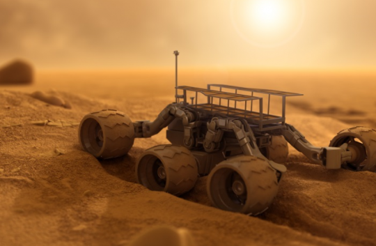 UK robots reach for the moon and Mars