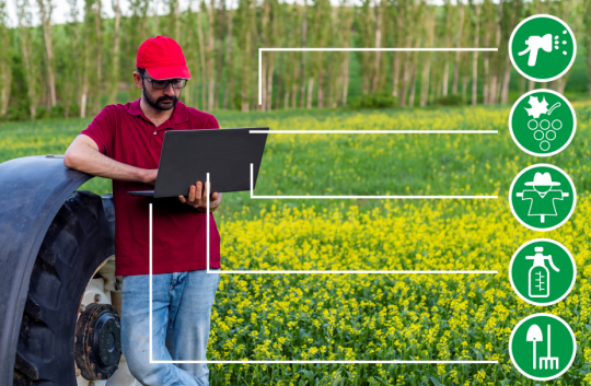 Ploughing ahead: Sensors plus analytics and blockchain help transform AgriTech