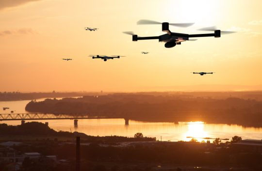 Sensors plus AI equal an exciting future for drones, says academic