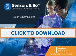 Sensors IoT Delegate Sample List Transform Industry CLICK TO DOWNLOAD