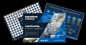 transform industry new media kit image transparent background