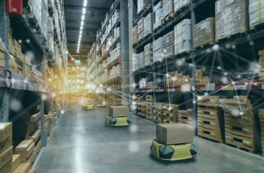 Warehouse robots fetching real value, say reports